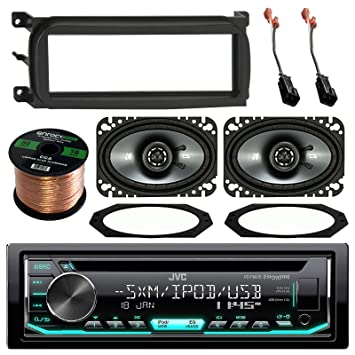 amazon com jvc kdr690s cd mp3 wma player stereo receiver bundle rh amazon com