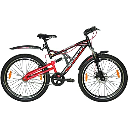 48eea5910d7 Buy Avon Gutts Cycles For Boys - Black/Red Online at Low Prices in India -  Amazon.in