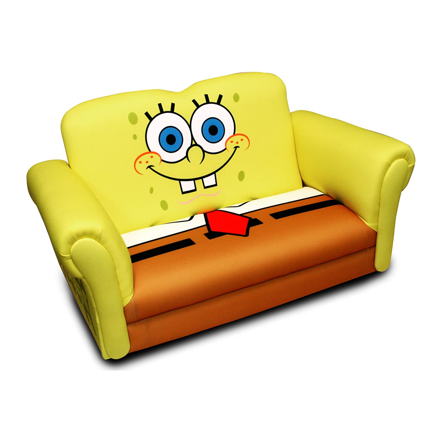 Amazon.com: Nickelodeon Deluxe Rocking sofa, Bob Esponja ...