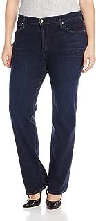 product image for James Jean Women's Plus-Size Hunter Z Straight-Leg Jean In Kensington