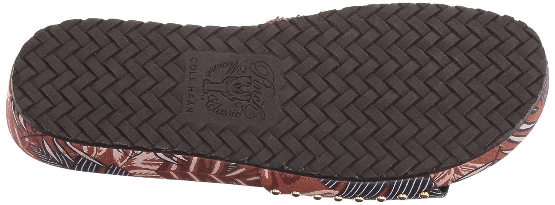 Cole Haan Women's Pinch Montauk 10.5 Slide Flat Sandal B07CLMLWQC 10.5 Montauk B(M) US|Tropical Palm Spring Print 9450a1