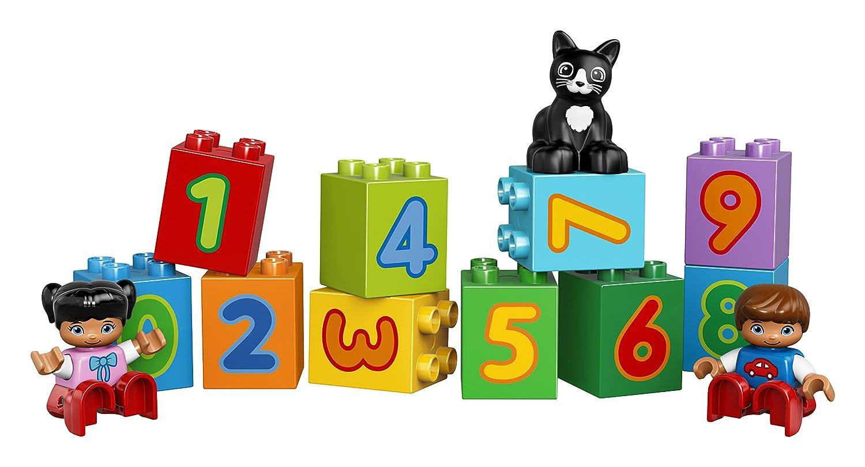 amazon com lego duplo my first number train 10847 preschool toy
