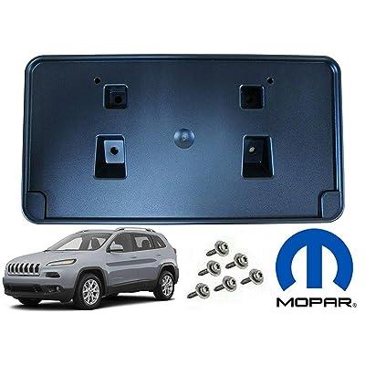 Jeep Cherokee Front License Plate Mounting Holder Bracket Mopar OEM: Automotive