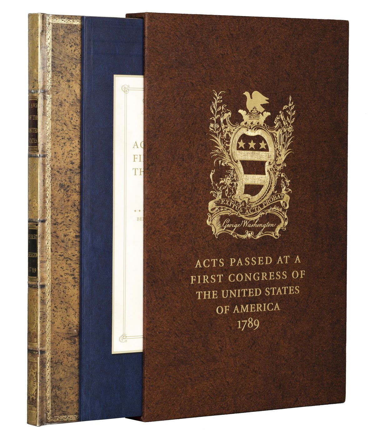 Acts of Congress 1789: Includes the Constitution and the Bill of Rights