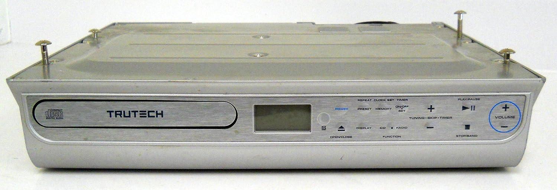 amazon com trutech kcd3188 undercabinet cd player compact disc rh amazon com  trutech cd clock radio manual cd 1189