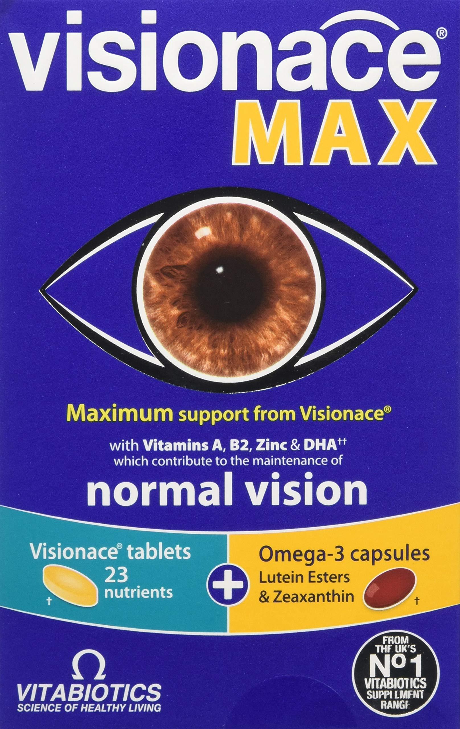 Vitabiotics | Visionace Plus Tablets & Capsules | 1 X 28+28S