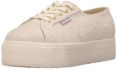 014b5ea033f3 Superga Women s 2790 Polywool Platform Fashion Sneaker