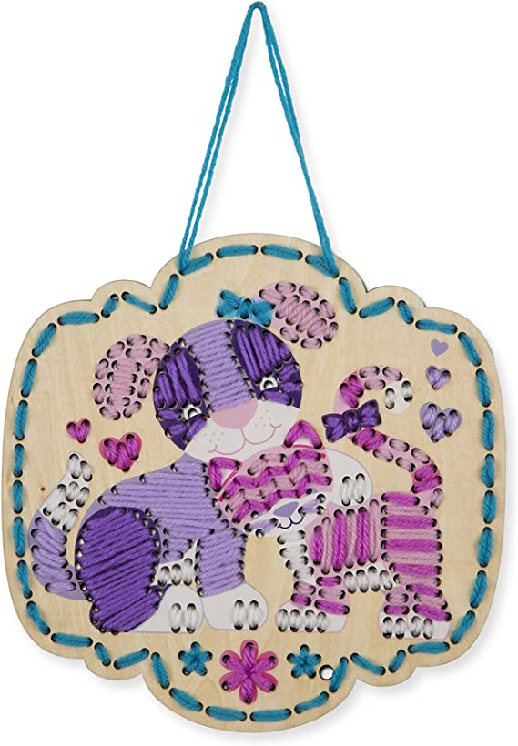 Melissa and Doug Stitch by Color Puppy /& Kitten 18916 NEW!