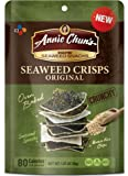 Annie Chun's Seaweed Crisps, Original, 1.27 Ounce (Pack of 10)