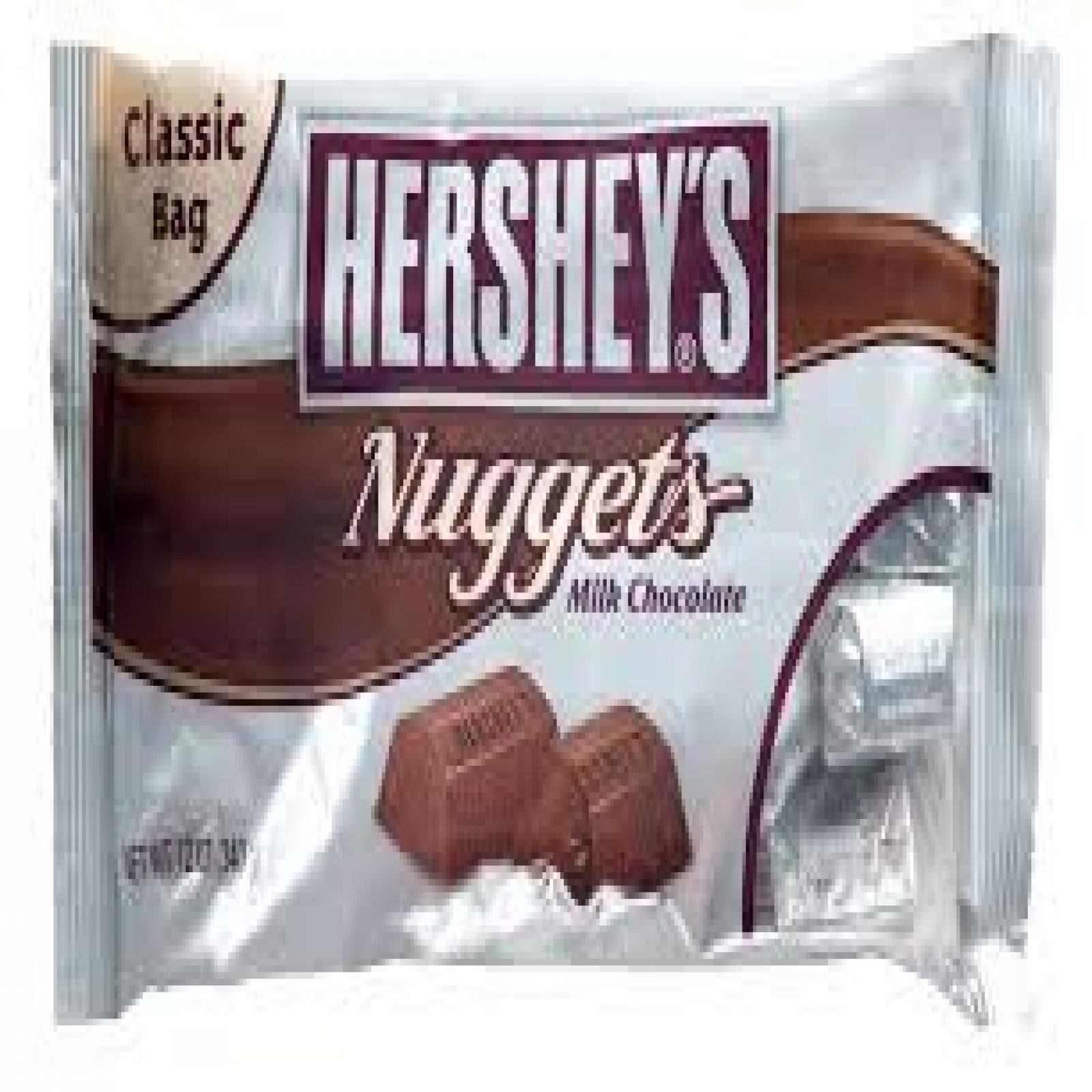 Hershey's Milk Chocolate Nuggets - 25.01 lb by Dylmine Health