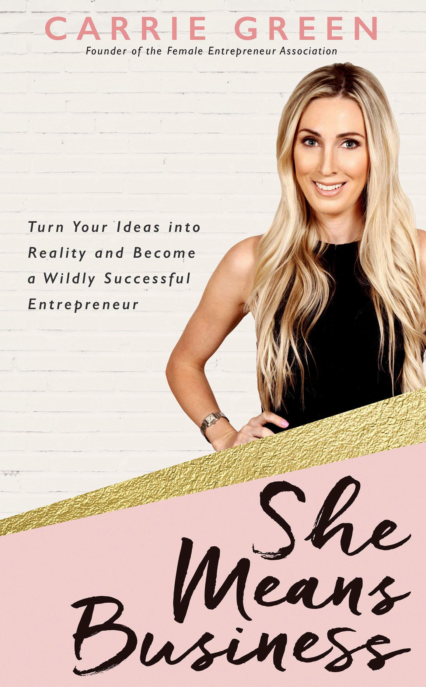 "Image result for ""She Means Business"" by Carrie Green."