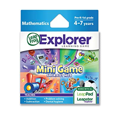 LeapFrog Mini Game Greatest Hits Learning Game (works with LeapPad Tablets and Leapster GS): Toys & Games