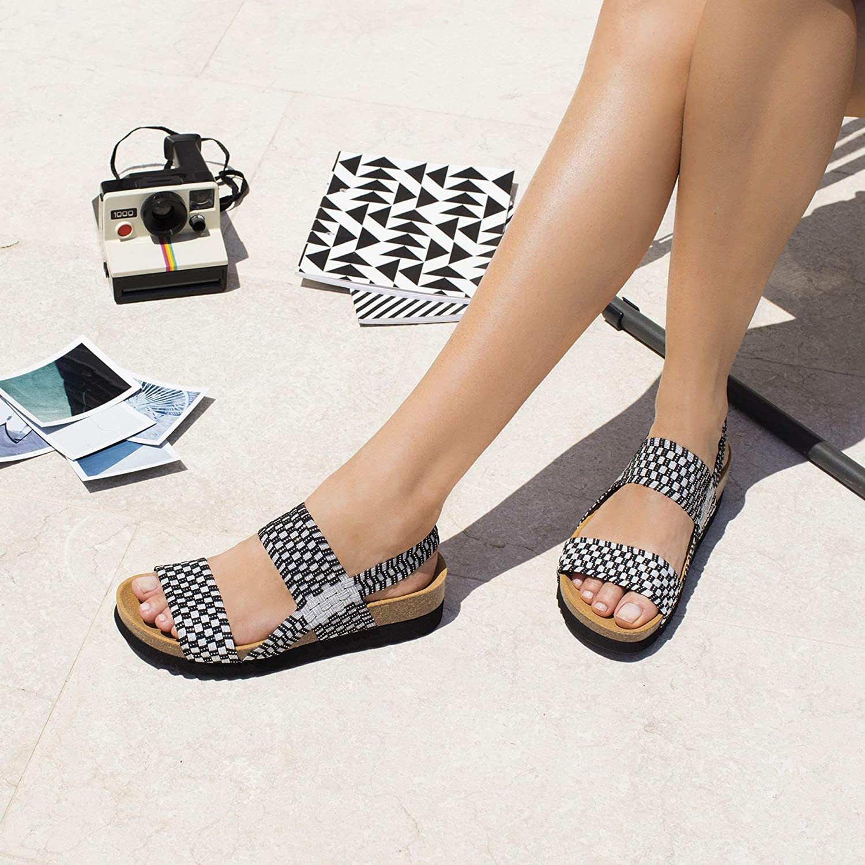 best sneakers 6f168 4093a Donna Neroargento40 Sandalo Kaory Dr Scholl Bioprint 0POwkn