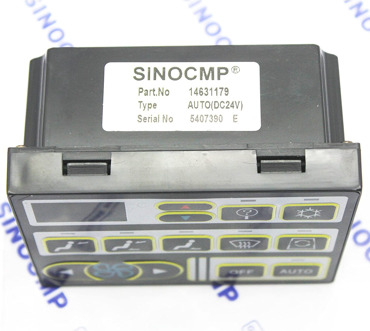 SINOCMP Air Control Panel Switch Excavator 24V Air Conditioner Controller VOE 14631179 VOE14631179 for Volvo Excavator Parts EC210 EC210B EC290