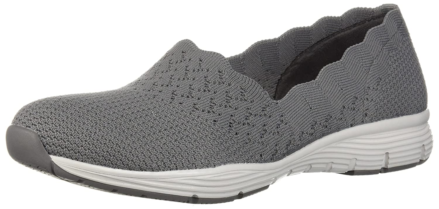 Skechers Damen Seager - Stat Slip On Turnschuhe