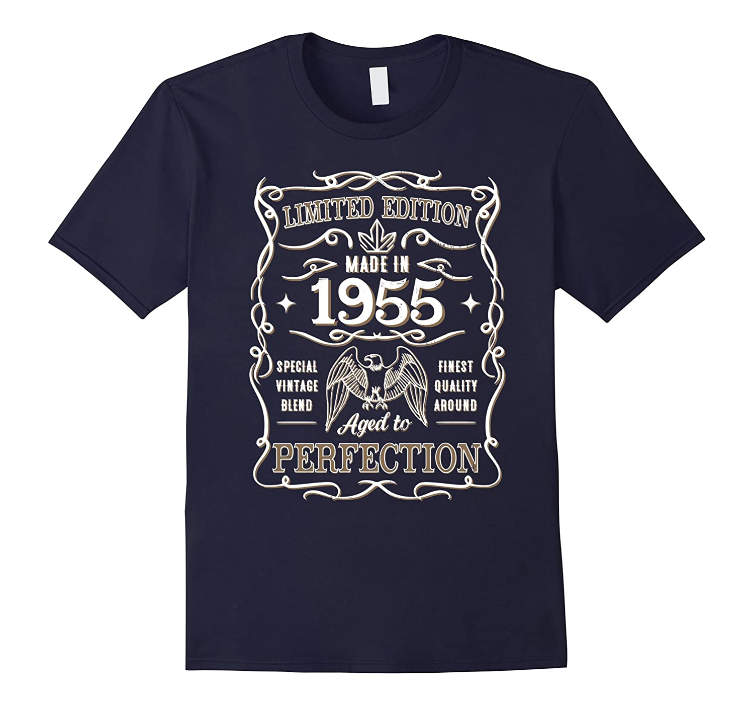 Vintage Made In 1955 Birthday Gift Idea T Shirt-TH