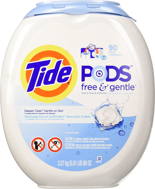 Tide Free & Gentle Laundry Pod (90 ct.)