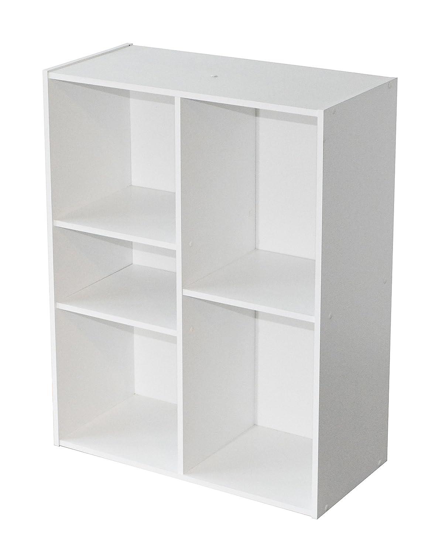 Alsapan Compo 5 Space Storage Unit with Melamine, 78.8 x 61.1 x 29.5 cm, White Finish Compo 06