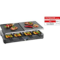 Elektrogrill schwarz klein Electro Grill Balkon ✔ eckig ✔ Grillen mit Elektrogrill ✔ für den Tisch