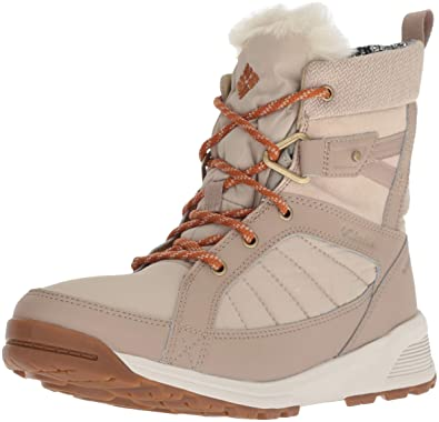 2155a1963d4f Columbia Women's Meadows Shorty Omni-Heat 3D Mid Calf Boot, Ancient Fossil,  Bright