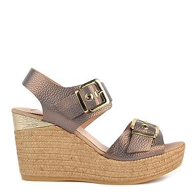 Zapatos MujerAmazon Sandalias De Cuna Nocciola esY Kanna N8OXwn0kZP