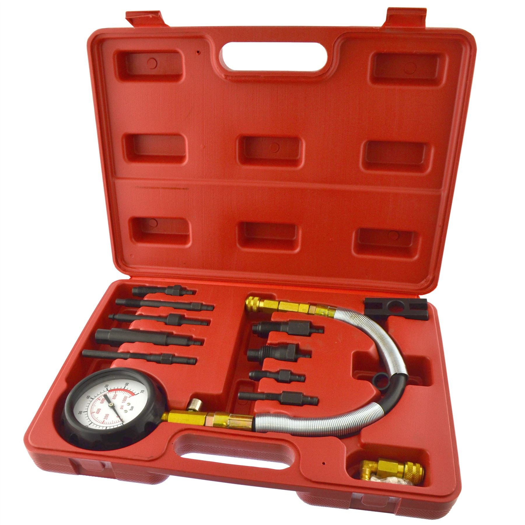 Diesel Engine Compression Tester Kit Direct / Indirect Injection Engines AN087 by AB Tools-Neilsen (Image #1)
