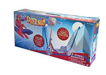 Spider-Man The Amazing Scooter de 3 Ruedas (HTI VHTI_1435042 ...