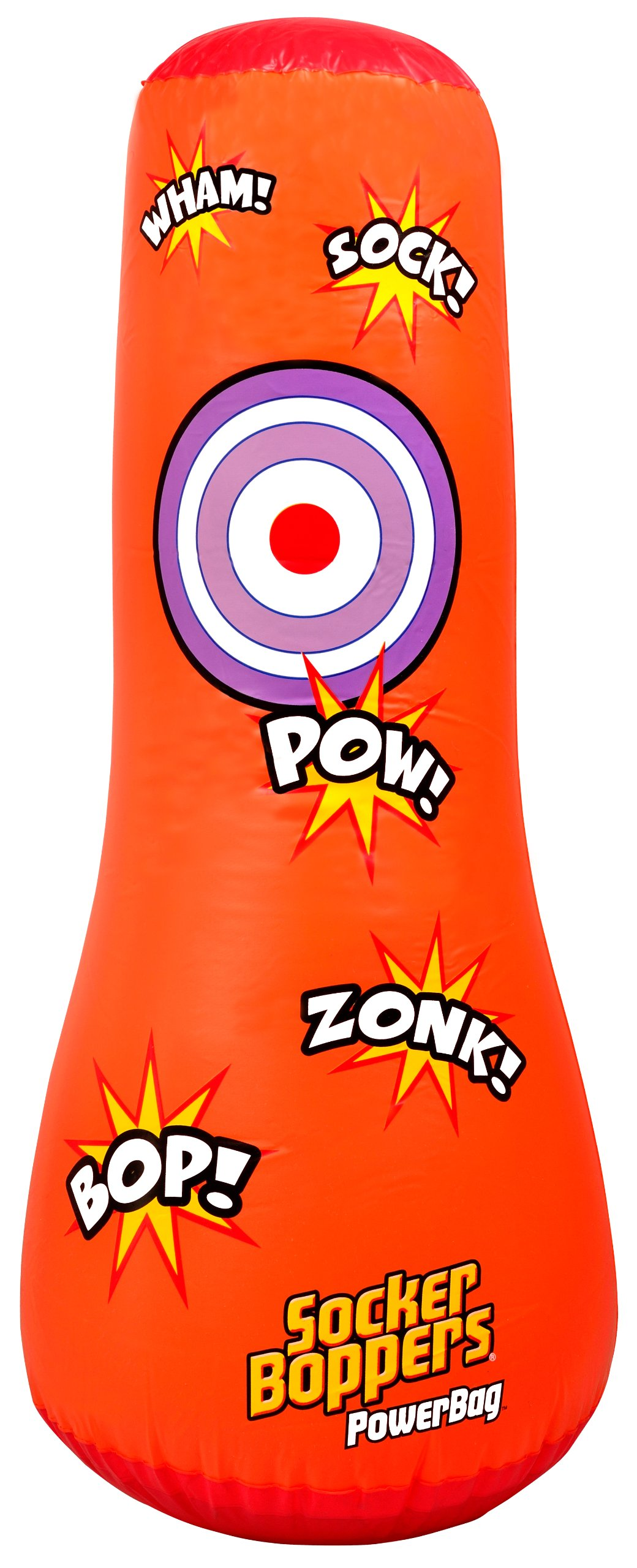 Wicked Socker Boppers Powerbag Inflatable Boxing Bag (Orange) by ToyCenter (Image #2)