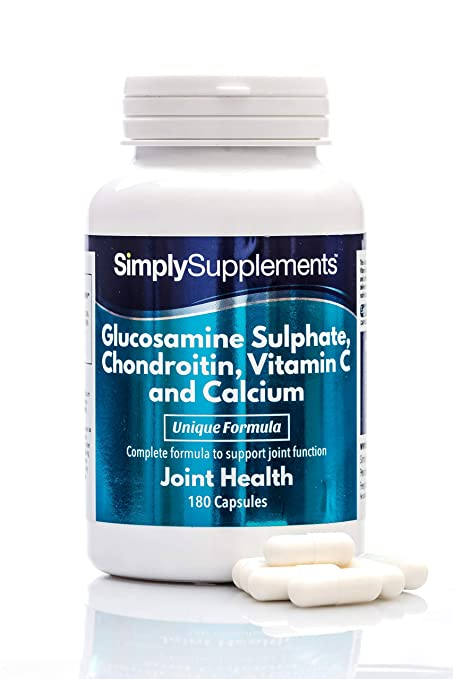 Amazon.com: SimplySupplements Glucosamine, Chondroitin, VIT ...