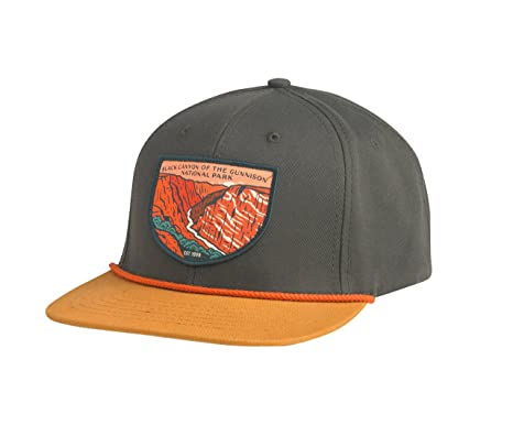 8f0ba66e36977e Amazon.com: Sendero Provisions Co. Black Canyon of The Gunnison National  Park Hat, Olivewood/Cedar, Adjustable: Sports & Outdoors