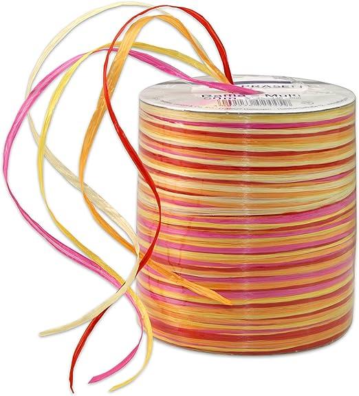 50m NARROW RIBBON Pastels Lot 1 Craft Ribbon