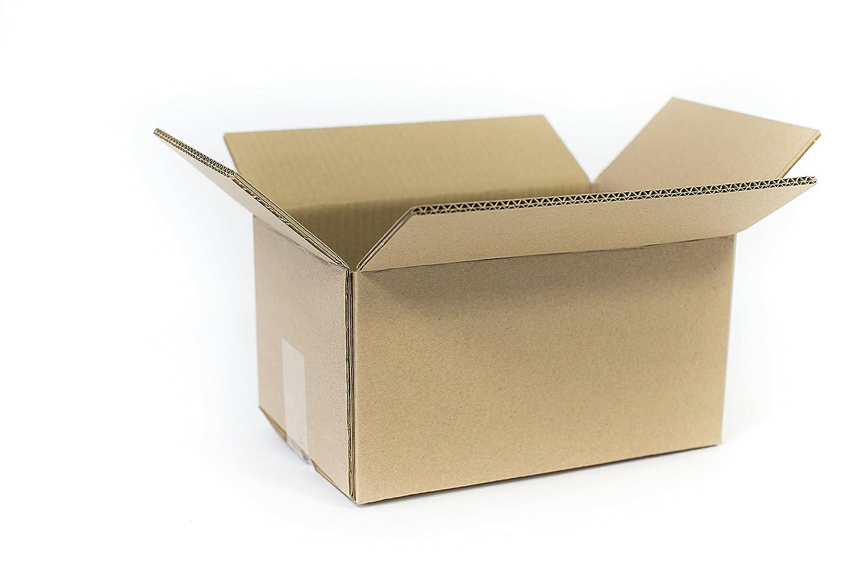Umzugskisten Stabil 10 St/ück Profi superg/ünstig Umzugskartons 500x350x370 mm 2-wellig Kiste B/ücher Karton