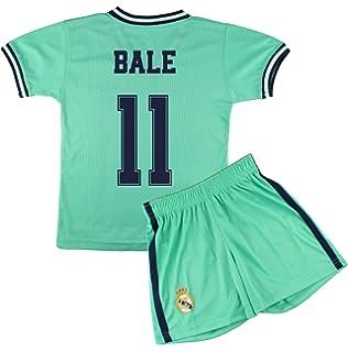Champions City Kit - Personalizable - Camiseta y Pantalón Infantil Tercera Equipación - Real Madrid - Réplica Autorizada: Amazon.es: Deportes y aire libre