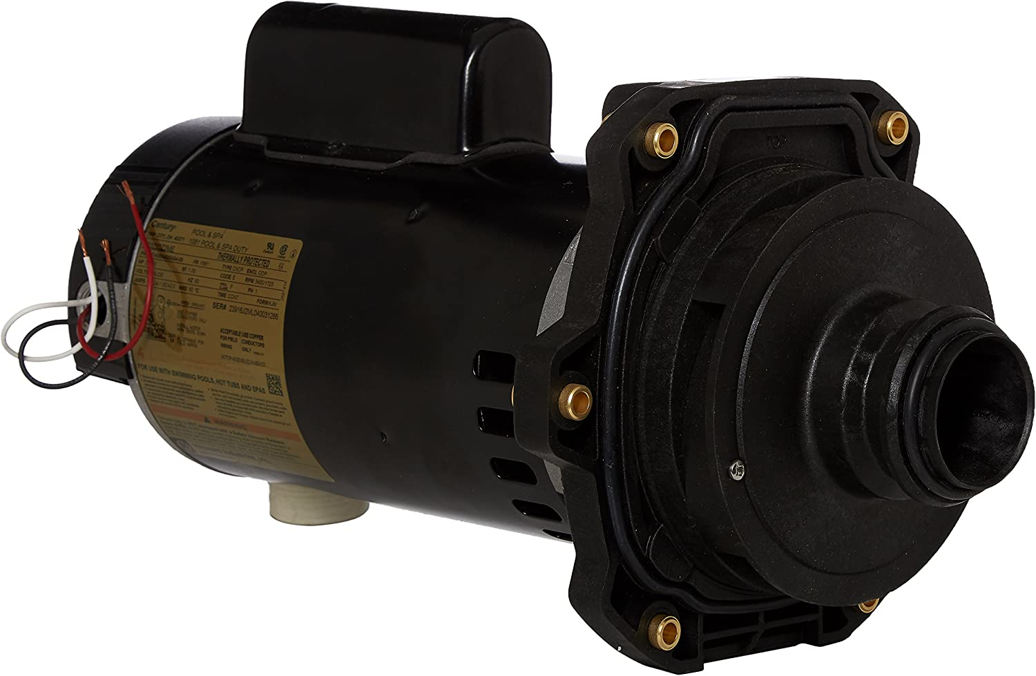 Hayward SPX3220X25Z2PE 2-1/2-Horsepower 2 Speed Standard Efficient Max Rate Power End Replacement for Hayward Tristar SP3200X Series Pump