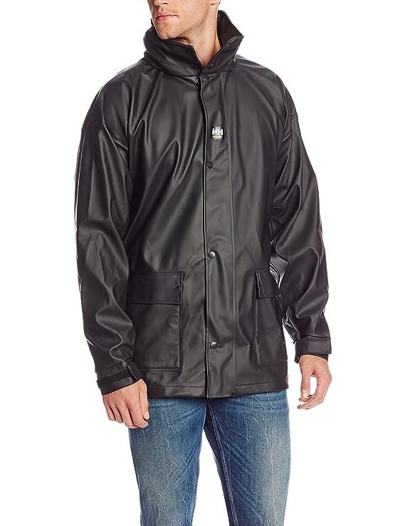 Helly Hansen Workwear Hombre impertech Deluxe Lluvia y Chaqueta de Pesca - Negro - M: Amazon.es: Deportes y aire libre