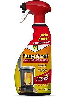 Fuegonet 231017 Limpia Estufas Transparente 27x11x6 cm