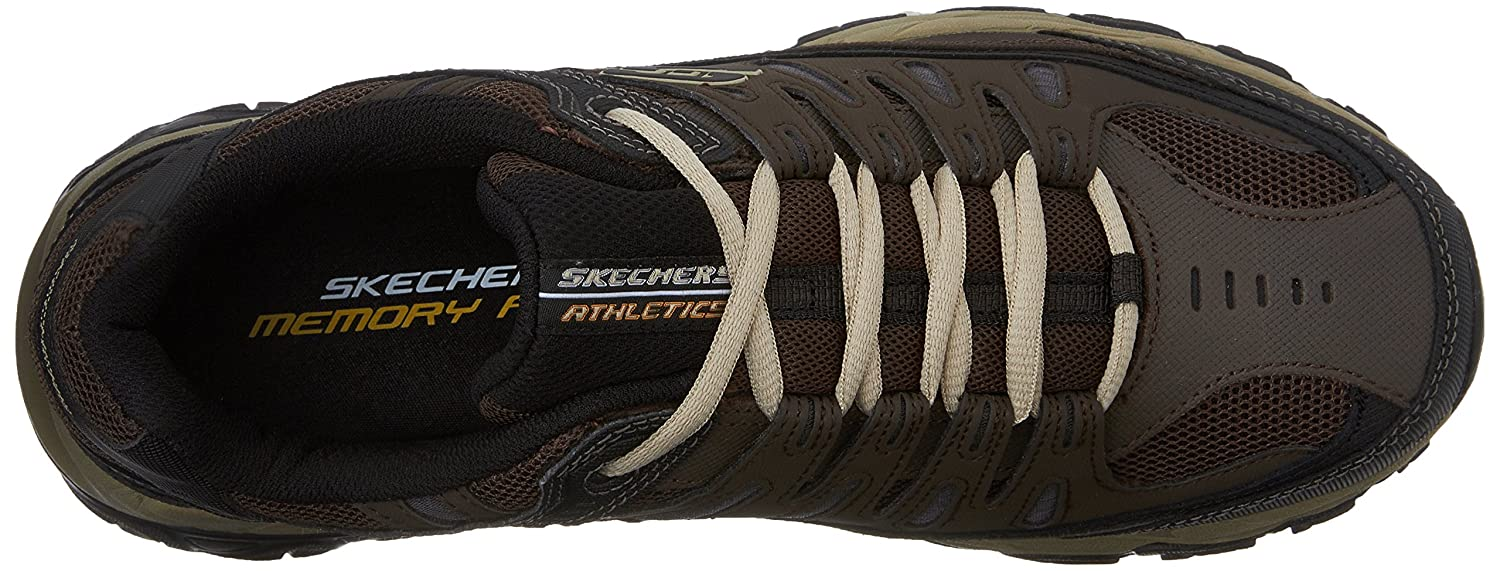 Skechers-Afterburn-Memory-Foam-M-Fit-Men-039-s-Sport-After-Burn-Sneakers-Shoes thumbnail 30