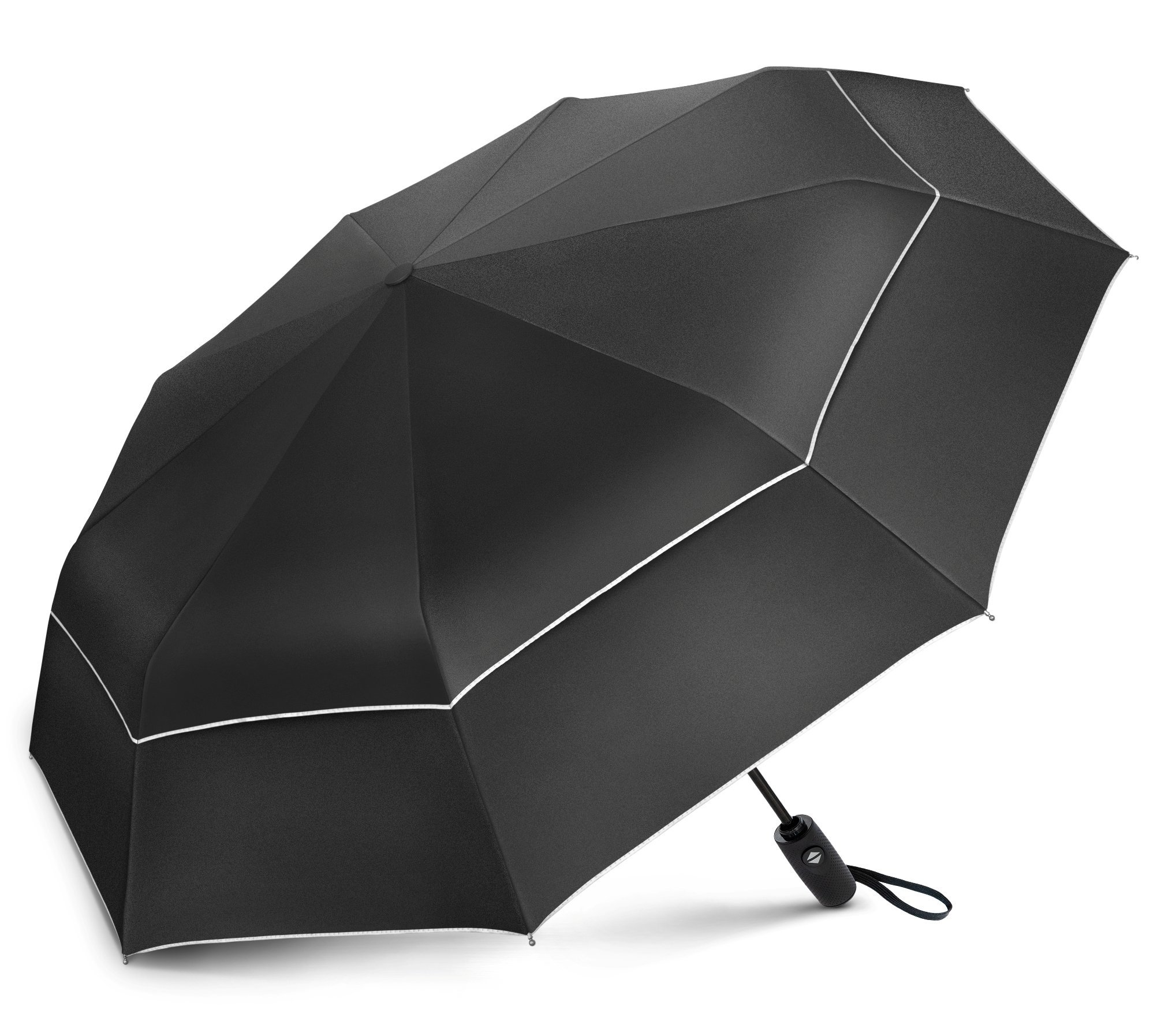 EEZ-Y Compact Travel Umbrella w/UV Protection - UPF 50+ Sun and Rain - Auto Open Close