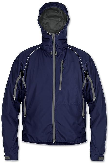 Paramo Directional Clothing Systems Pasco - Chubasquero para Hombre, Color Azul Marino, Talla 2XL