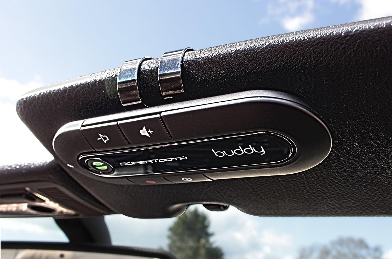 Nero SuperTooth Buddy Kit Vivavoce Bluetooth 2.1 con Supporto auto per Smartphone