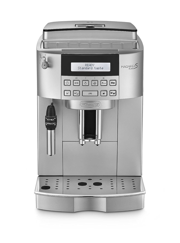 DeLonghi Magnifica S Máquina espresso 1.8L 2tazas Acero inoxidable - Cafetera (Máquina espresso, 1,8 L, Granos de café, De café molido, Molinillo integrado, ...