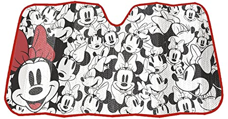 Image Unavailable. Image not available for. Color  Disney Minnie Mouse  Expressions Truck Car SUV Front Windshield Accordion Folding Sun Shade ... e331d9e1a24