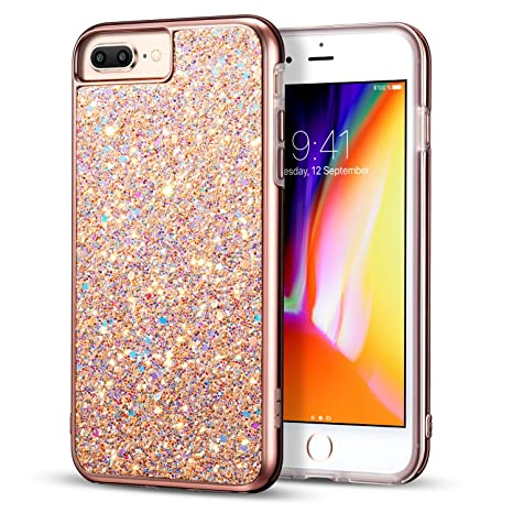 iphone 8 plus coque brillante