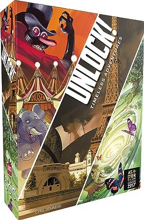 Asmodée - Unlock! Timeless Adventures Version Francaise ...