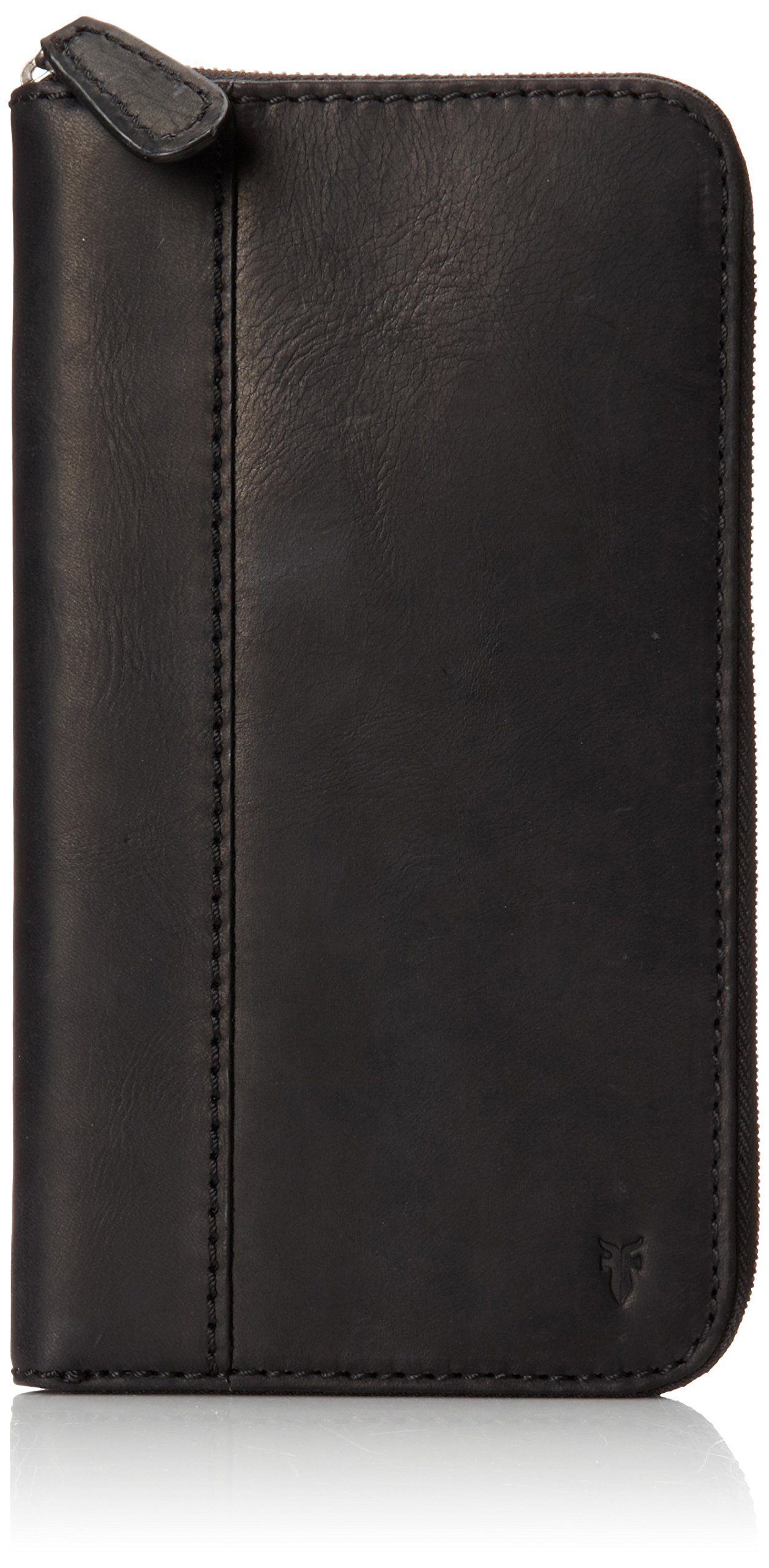 FRYE Men's Logan Travel Wallet, Black, One Size