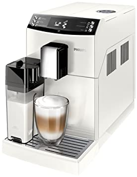Philips 3100 series EP3362/00 - Cafetera (Independiente, Máquina espresso, 1,8 L, Granos de café, Molinillo integrado, Blanco): Amazon.es: Hogar