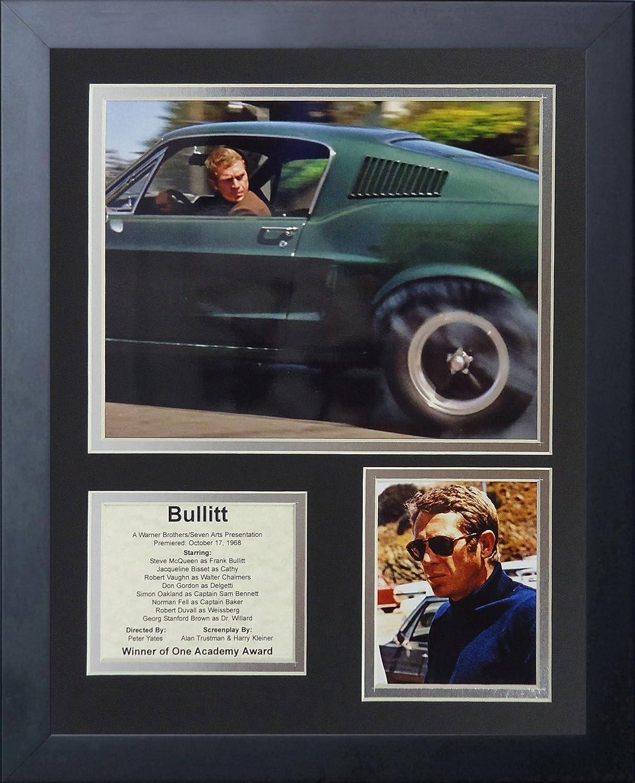 11 x 14-Inch Legends Never Die Bullitt Framed Photo Collage