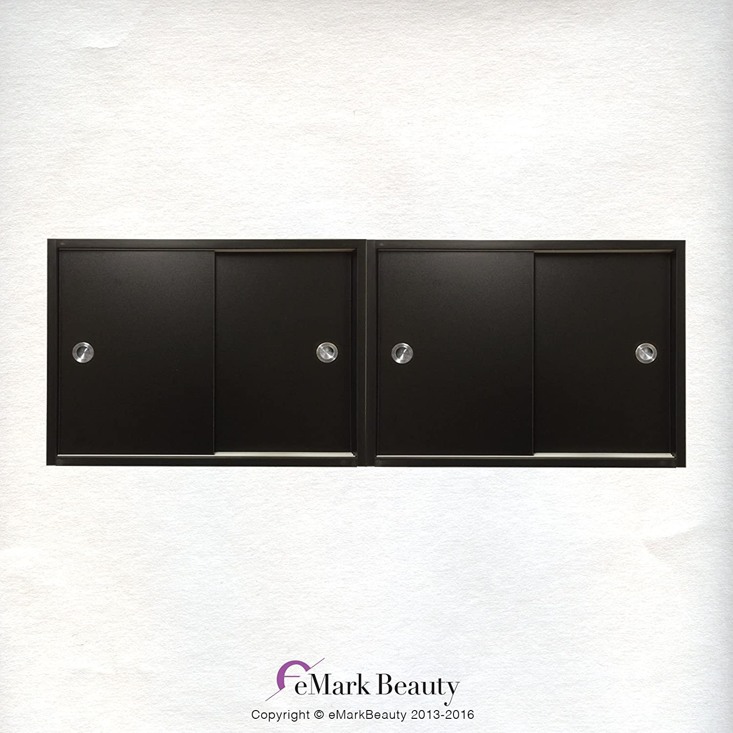 Amazon.com: Beauty Salon DOUBLE Upper Cabinets Towel Cabinets Storage For  Shampoo Bowl Station TLC TC2TWO: Beauty