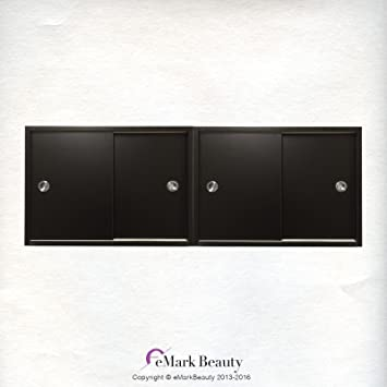 Attrayant Amazon.com: Beauty Salon DOUBLE Upper Cabinets Towel Cabinets Storage For  Shampoo Bowl Station TLC TC2TWO: Beauty