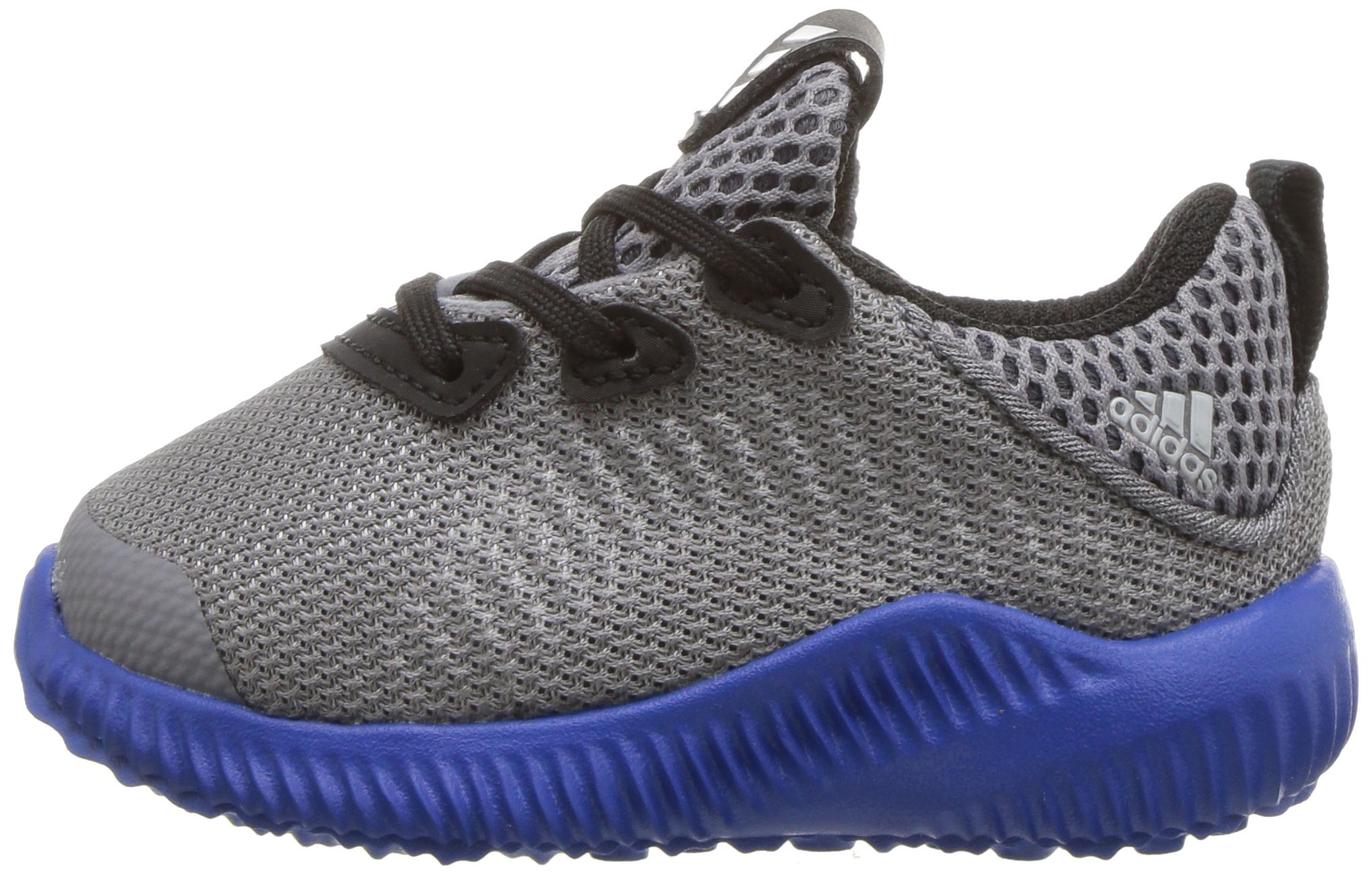adidas Kids' Alphabounce Sneaker, Grey/Light Onix/Satellite, 7 M US Toddler by adidas (Image #5)